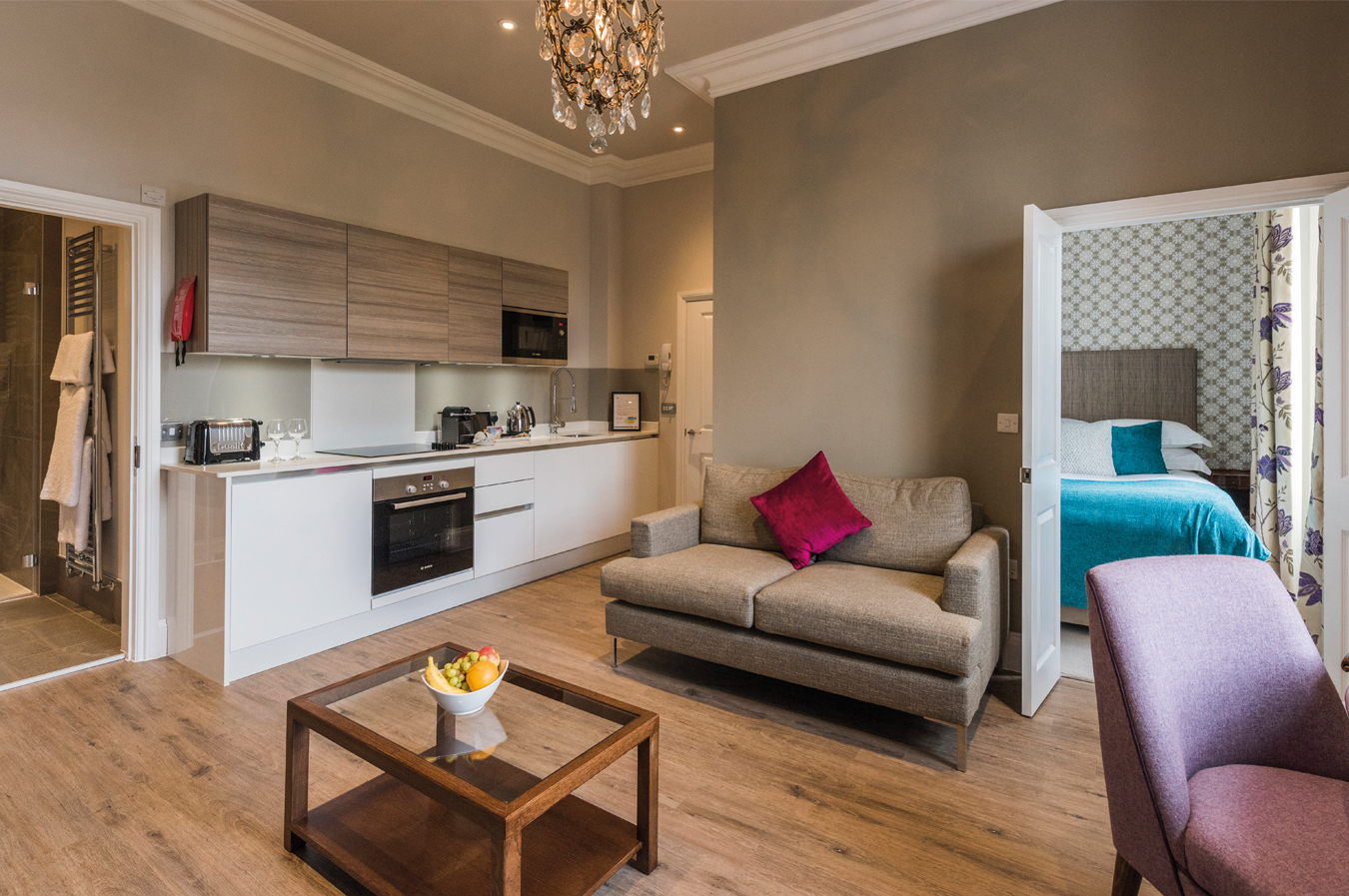 Apartment 8 – One Bedroom Suite